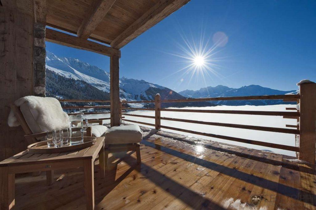Terrasse chalet